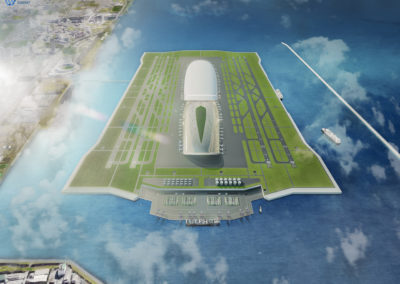 Floating Airport Japan